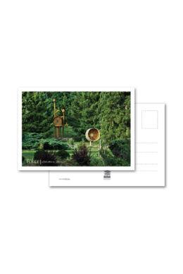 Folly Arborétum képeslap játszótérrel